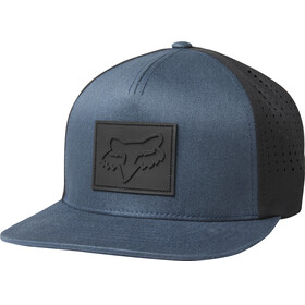 Fox Redplate Snapback Hat Men navy